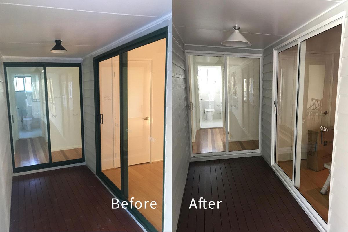 Aluminium Door and Window Recolour