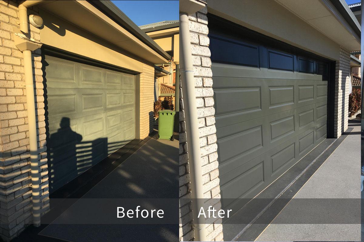 Repainting Garage Door